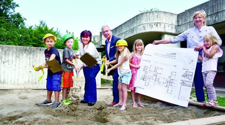 Der 40 Jahre alte Kindergarten aus Landskron soll hiermit auf den aktuellsten Stand gebracht werden.