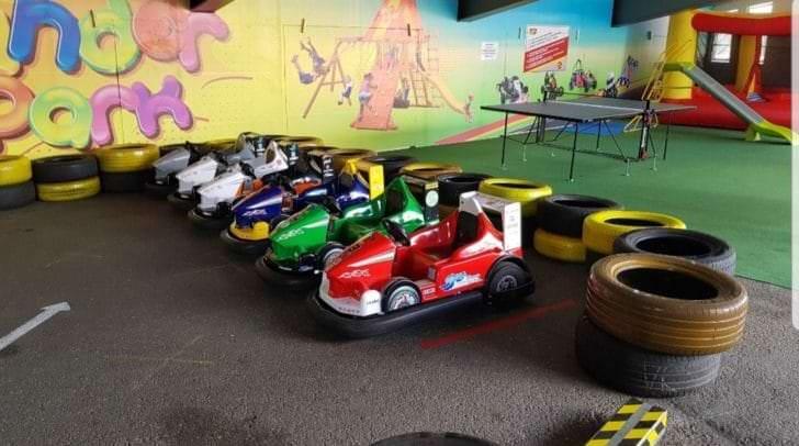 Im Kinderareal des TAFRENT-Businessparks wurde sogar eine Go-Kart-Bahn errichtet. Bis zu einer Einigung bleiben die Karts jedoch erstmal geparkt.