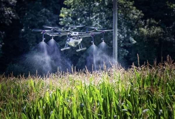 Die Drohne im Einsatz