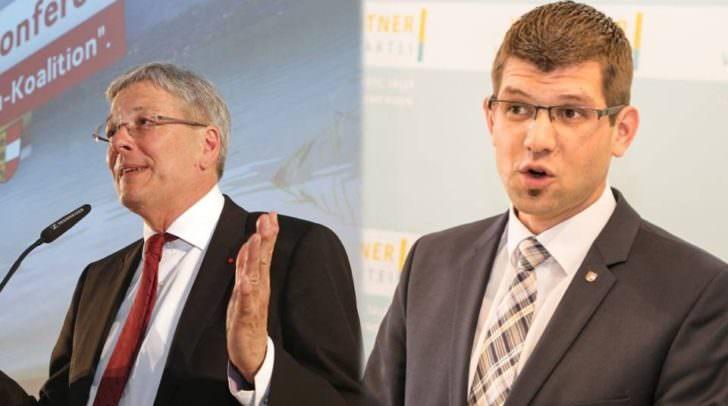 Landeshauptmann Peter Kaiser und Landesrat Martin Gruber stellen sich wichtigen Fragen im Live-Interview auf Facebook.