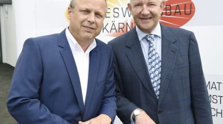 v.l.n.r.: Technischer Geschäftsführer Wolfgang Ruschitzka und Kaufmännischer Geschäftsführer Harald Repar