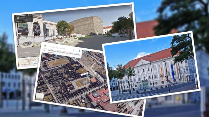 Wien, Pompeji und bald auch Klagenfurt: Street View kommt in die Landeshauptstadt