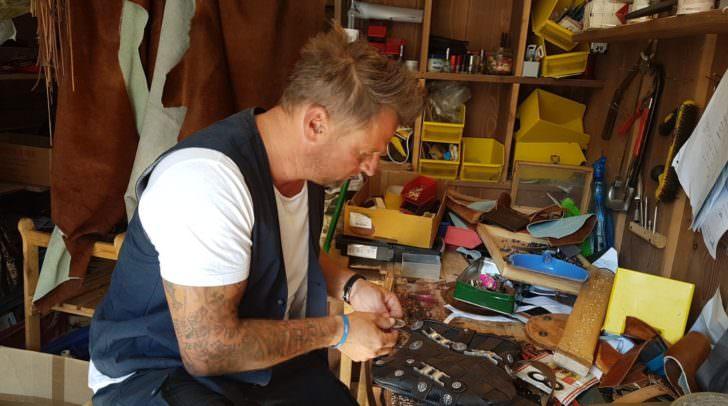 Andy Glantschnig steckt bei seiner Arbeit viel Liebe ins Detail