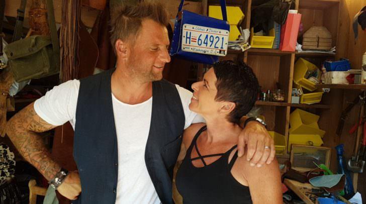 Andy und Alex im Laden in der Bahnhofstraße