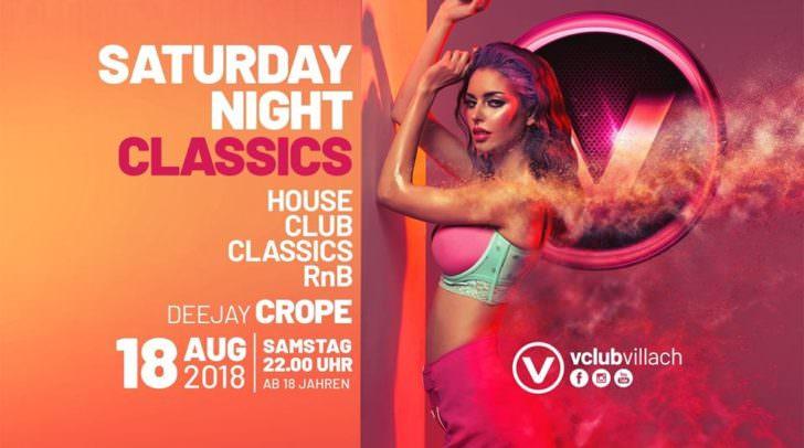 Mit den Classic-Hits wird DJ Crope den V-Club zum Beben bringen.