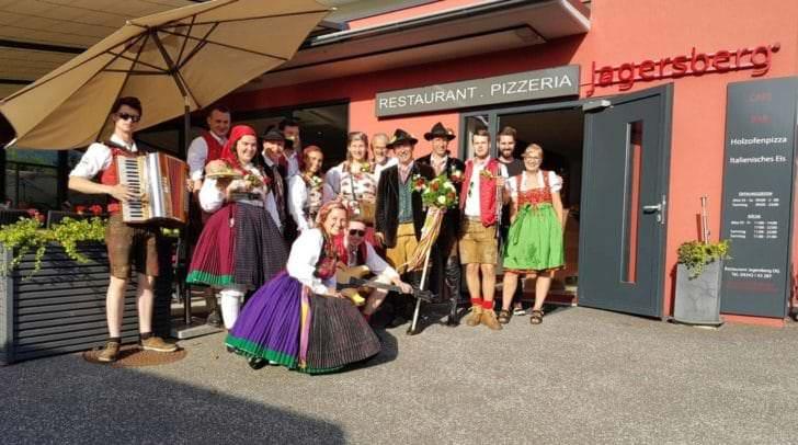 Das Jagersberg-Team am Villacher Kirchtag 2017