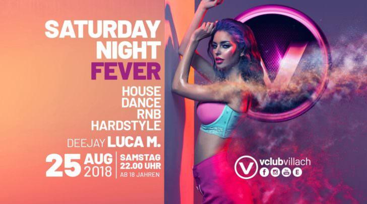 Nicht zu vergessen: Saturday Night Fever – der Samstag mit den besten Hits von House, Dance, RnB und Hardstyle.
