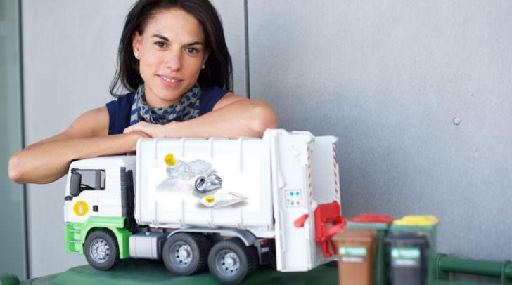 Ramona Sterbenz ist die neue Abfallberaterin