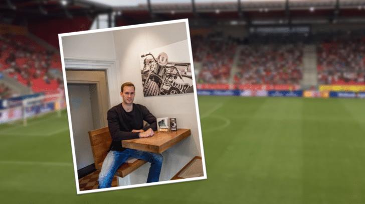 Marco Knaller stand heute beim FC Ingolstadt 04 zwischen den Pfosten.