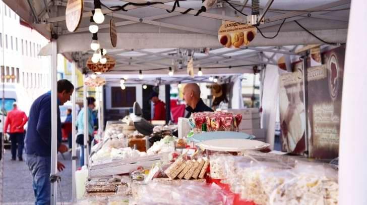Ab morgen gastiert der Italo-Markt wieder in der Villacher Innenstadt.