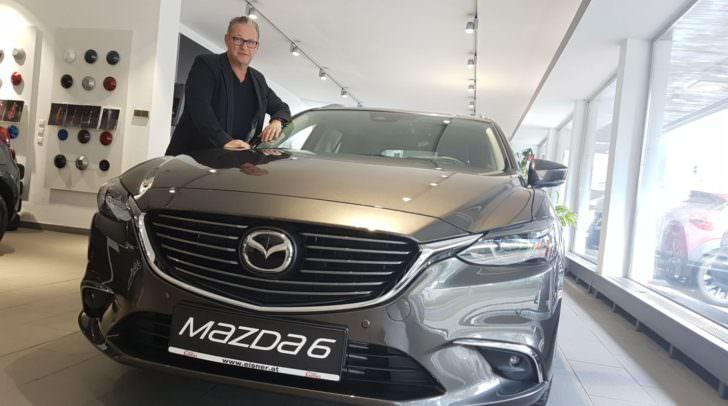 Michael Brodegger kann eure Fragen zum neuen Mazda6 beantworten.