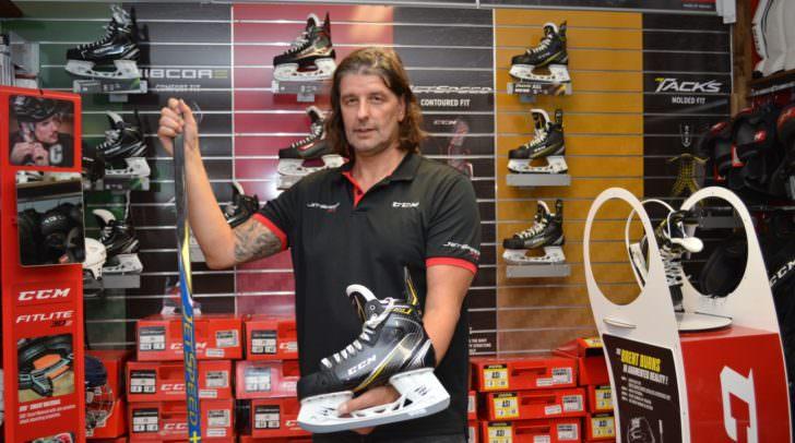 Stefan Essmann ist der neue Shopleiter des Eishockey-Fachgeschäftes Create Sports in Villach.