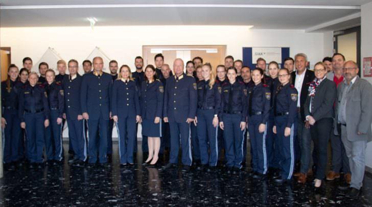27 neue Aspirantinnen und Aspiranten haben die Grundausbildung zum Exekutivbediensteten begonnen.