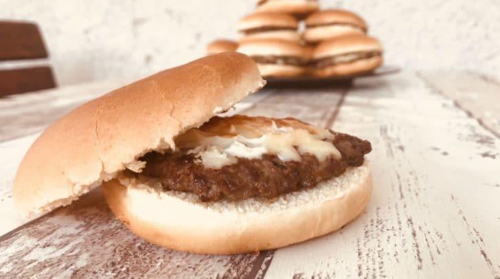 Der offizielle Wettkampf-Burger.