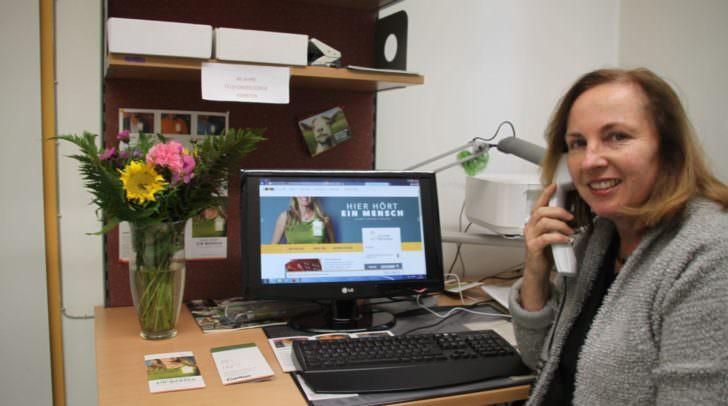 Silvana Fischer: Leiterin der Telefonseelsorge Kärnten