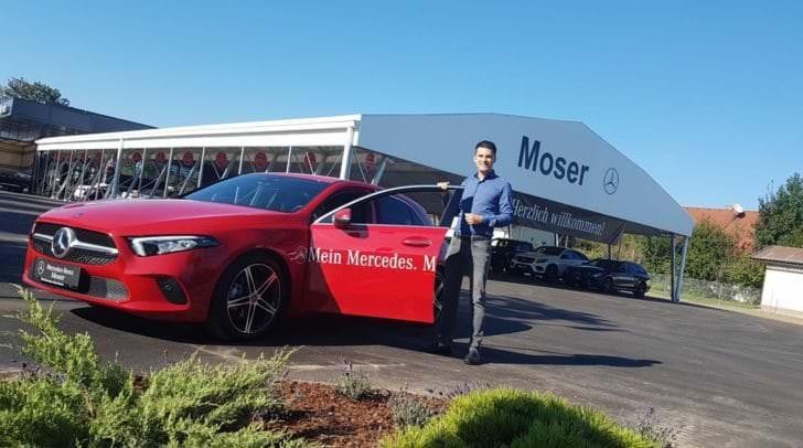 Stefan Moser möchte Mercedes Benz in Villach in die Pole Position bringen