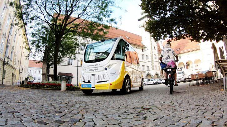 Ab heute könnt ihr den autonom fahrenden Bus in Klagenfurt kostenlos testen.