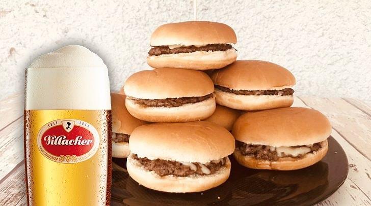 Wieviele Burger schafft der Sieger der Burger Challenge? Der richtige Tipp von dir könnte dir einen Jahresvorrat feinstes Villacher Bier bringen!