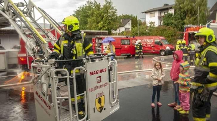Sechs Feuerwehren nahmen an der Übung teil.