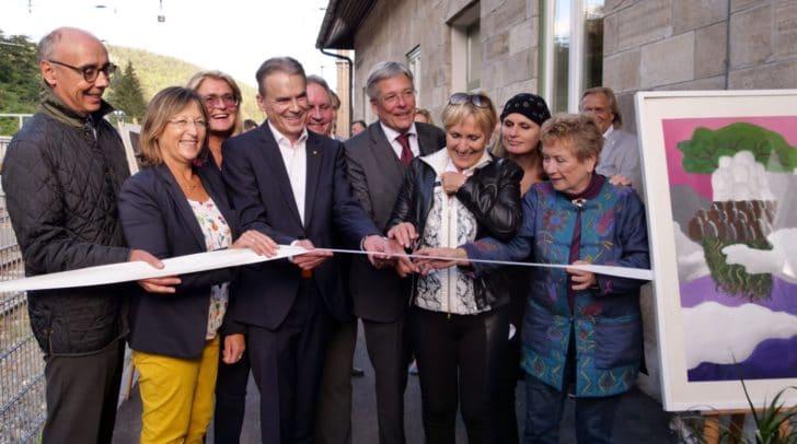 Eröffnung Kunstbahnhof Wörthersee in Velden