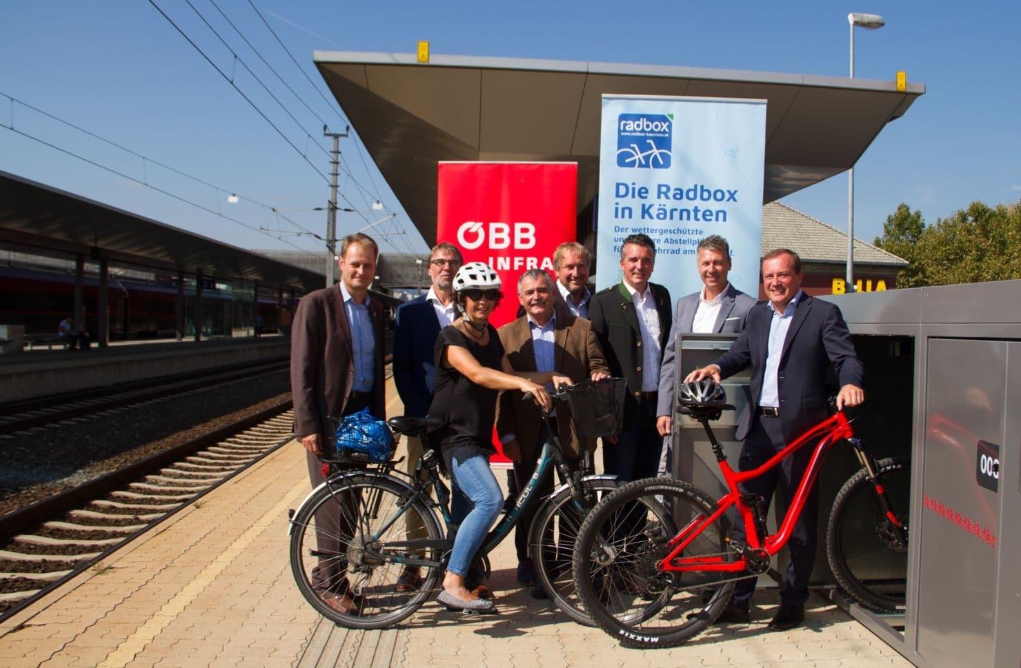 Neue Fahrradboxen für Kärnten in Kärnten 5 Minuten