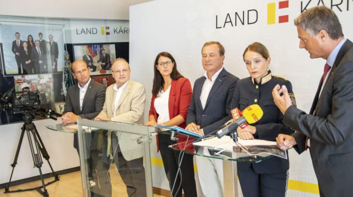Bei der heutigen Pressekonferenz wurden Lösungsvorschläge für Probleme, die durch die Tuning-Treffen verursacht werden, präsentiert.