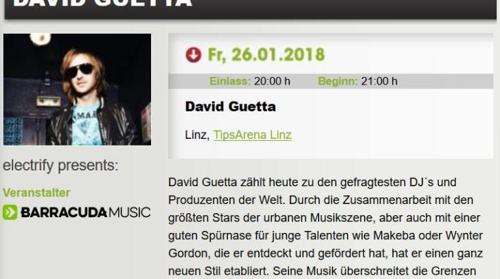 Veranstalter Barracuda Music: ein Hinweis auf den nächsten Star in Klagenfurt?