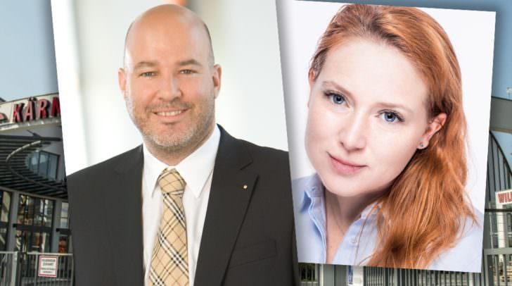 Dr. Bernhard Erler und  Mag. (FH) Irene Huditsch