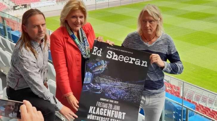 Tickets für das Konzert des Superstars sind schon bald erhältlich und üblicherweise schnell vergriffen.