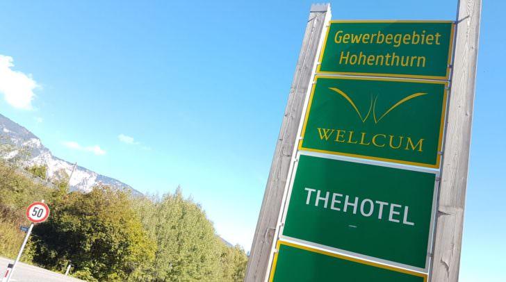 Der Hohenthurner Wellnesstempel wird vorübergehend geschlossen.