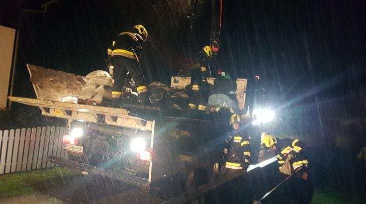 Die Freiwillige Feuerwehr Gödersdorf steht heute bereits im Einsatz