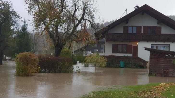 Das Hochwasser verursachte hohe Schäden