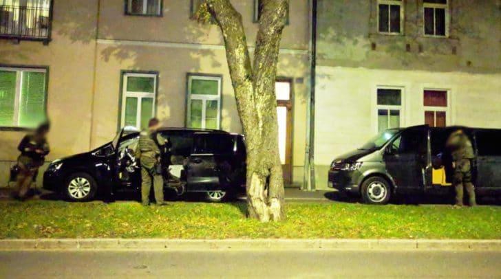Auch in Schiefling und in der St. Ruprechter-Straße hat es einen Einsatz der COBRA gegeben.