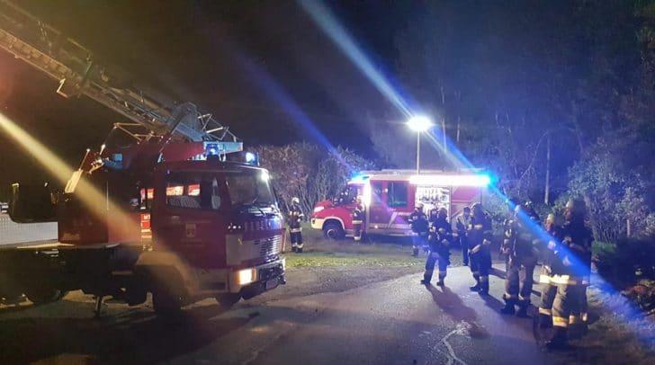 Kurz nach 23 Uhr heulten gestern in Weißenstein die Sirenen