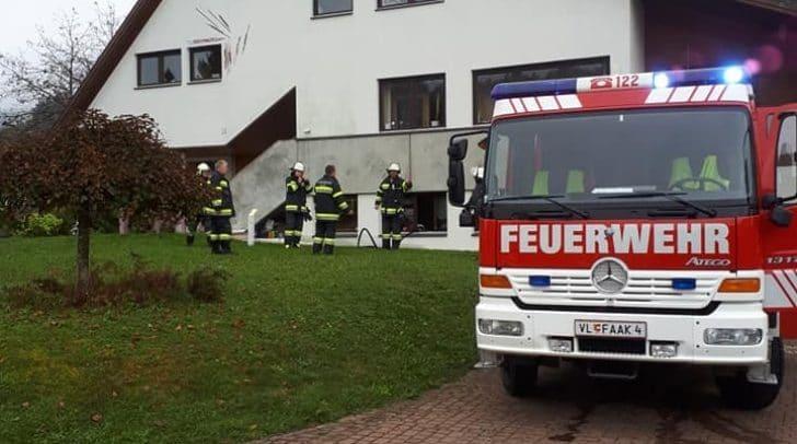 Mehrere Feuerwehren wurden zum Einsatzort alarmiert.