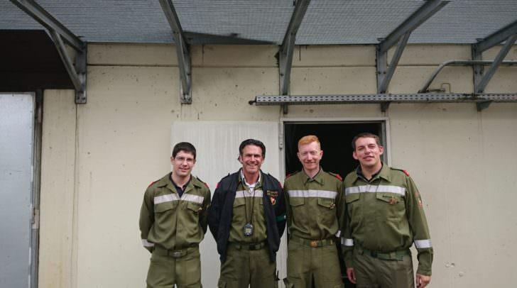 Der Atemschutztrupp der FF Perau brillierte, wie auch schon in den Bewerben zuvor, mit hervorragenden Leistungen aller Truppmitglieder.