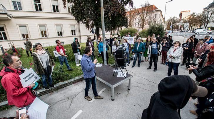 Seit Oktober finden die Donnerstagsdemos in Klagenfurt statt