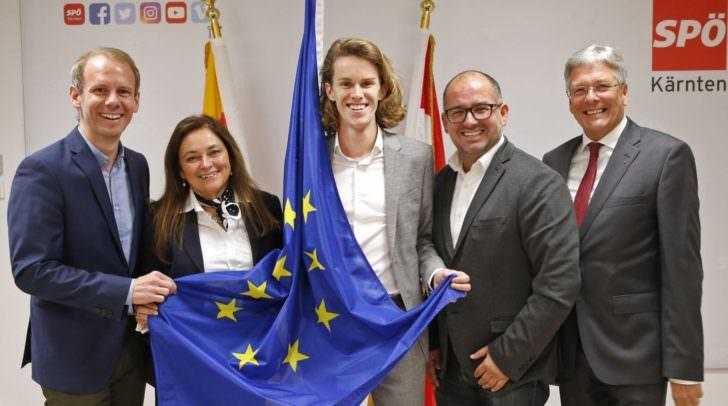 Die drei im LPV gewählten EU-Wahl-KandidatInnen repräsentieren Jugend – Bildung und Wirtschaft.