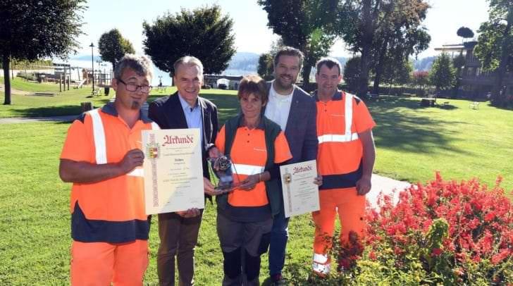 Blumenschmuckwettbewerb in Velden