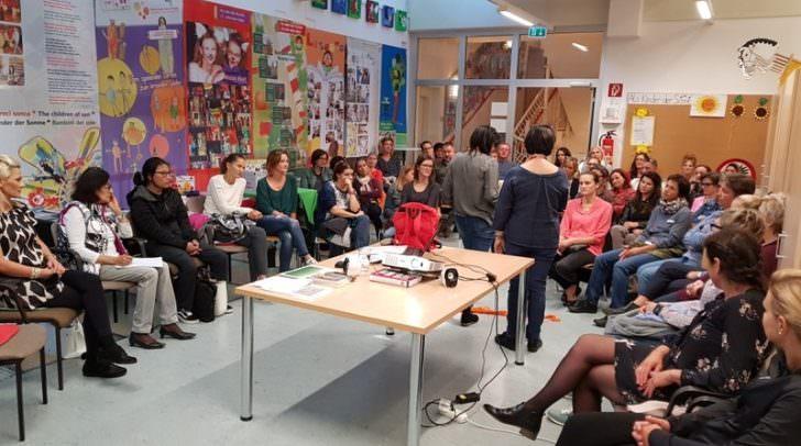 Workshop in der Lindner Elternschule