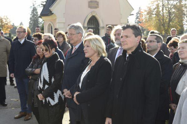 Memorial Kärnten-Koroska Gedenkfeier zum Nationalfeiertag.
