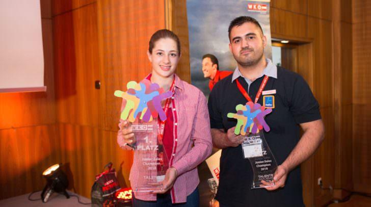 Karam Osmanjan und Sabrina Glanzer vertreten Kärnten beim Junior Sales Champion Österreich.