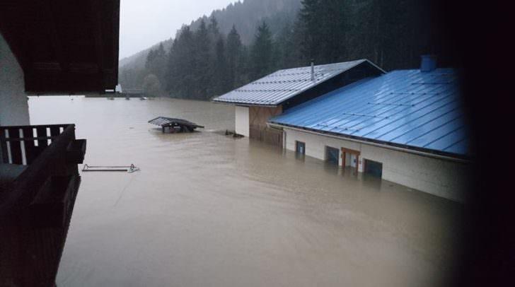 Hochwasser in Rattendorf