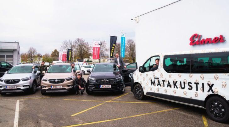 Dank Auto Eisner ist Matakustix  für den Weg zum Konzert bestens ausgestattet.