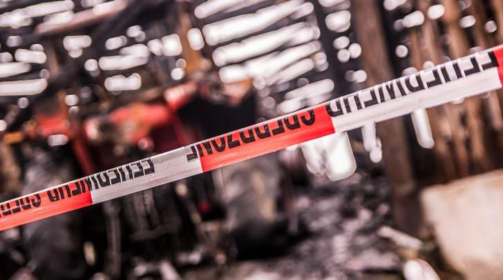 Beim zweiten Brand in Umberg stand ein Wirtschaftsgebäude in Vollbrand.