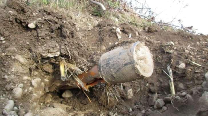Mit seiner Pflugmaschine beschädigte der Landwirt die Gasleitung am Klagenfurter Südring.