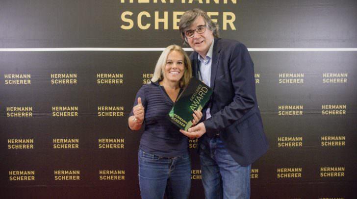 Ilse Grabner und Hermann Scherer