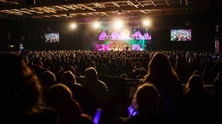 Letztes Jahr waren über 7.000 Menschen bei dem Spektarkel dabei.