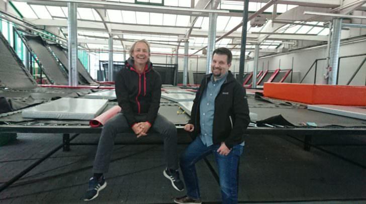 Die beiden Betreiber, Andreas Steinbauer und Andreas Trettler, freuen sich schon auf die Eröffnung in Villach.