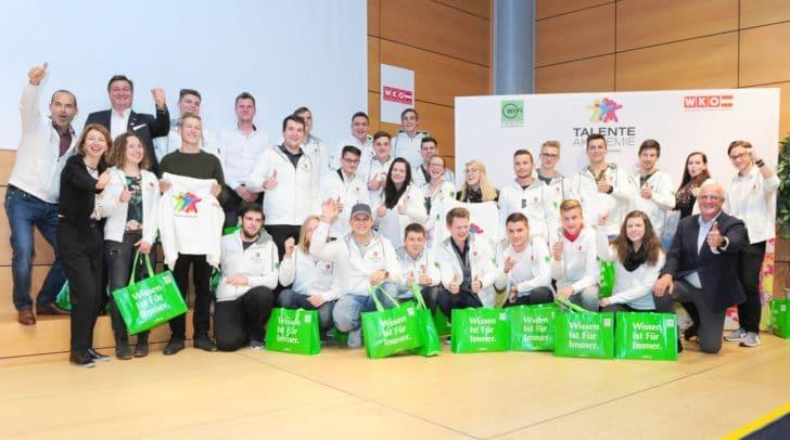 Verabschiedung der 46 Skills Austria Teilnehmer in der WIFI Klagenfurt.